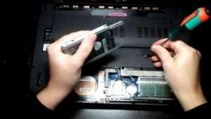 замена жесткого диска ноутбука в Люберцах
